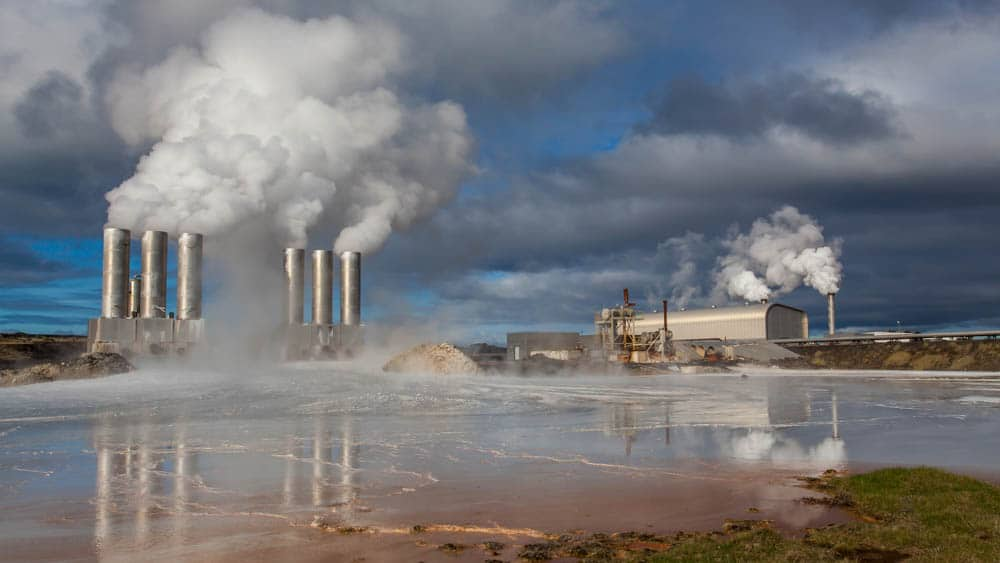 Environmental impacts of geothermal energy