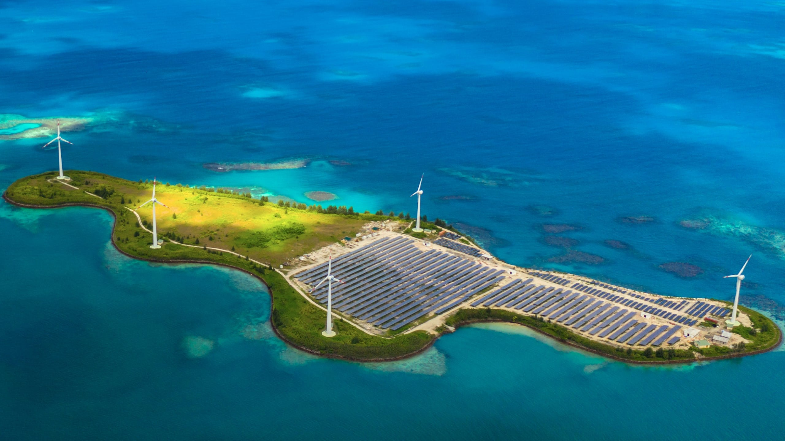 Artificial islands and sustainable blue growth