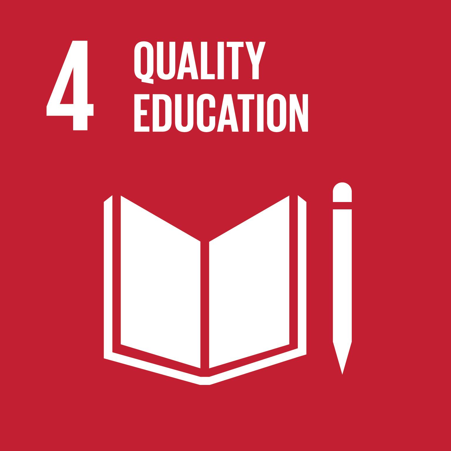 SDG 4 - Quality education